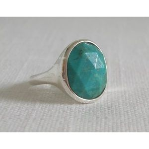 Silpada Turquoise Sterling Silver Cabana Ring 3052